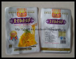 300gram Customized Printing Food Grade Plastic Package Vacuum Bag with 3 Side Seal pictures & photos