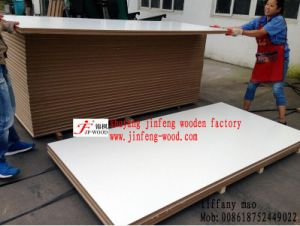 China Melamine Faced MDF/ Particle Board Warm White Hotel Cabinet pictures & photos