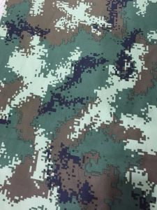 240GSM Twill Digital Design Military Police Camouflage Fabric pictures & photos