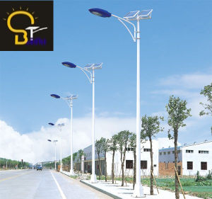 8mtrs Height, 80W LED Solar Road Lighting with Economic Design, Full +Half Power 12 Hrs pictures & photos