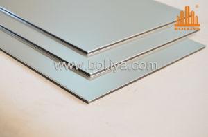 Outdoor Signage Aluminum Composite Panel ACP Mt-2002 Metallic Silver pictures & photos