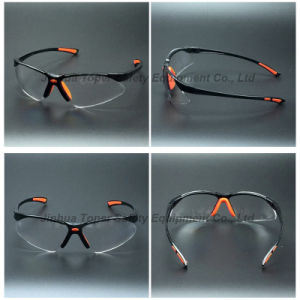 Sports Type Soft Frame Safety Glasses Goggles (SG125) pictures & photos