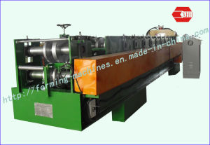 Z Channel Machines with Pre-Punching and Pre-Cutting Z Purline Forming Machine Purline Making Machine Roll Forming Machine pictures & photos