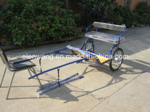 Mini Sulky Horse Cart Horse Carriage (GW-HC05-3#) pictures & photos