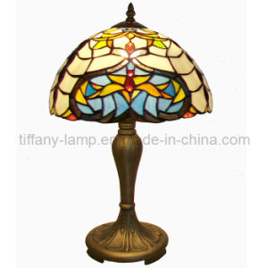 UL Stander Tiffany Table Lamp (TT12015)