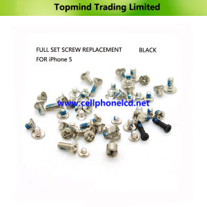 Cell Phone Parts Screws Set for Apple iPhone 5 pictures & photos