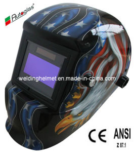 Solar Powered/9-13 Shade Option/Automatic Welding Helmet (G1190DB) pictures & photos
