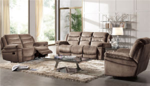 Electric Recliner Sofa USA L&P Mechanism Sofa Down Sofa (898#) pictures & photos