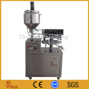 Semi-Automatic Metal Tube Filling and Sealing Machine/Tube Filler and Sealer pictures & photos