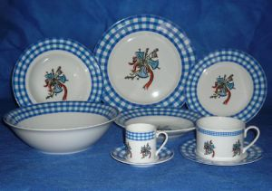Round Dinnerware Set, Porcelain Tableware Set (JC5Y032)