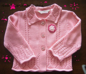 Baby Girls Sweet Cardigan - True Knitted pictures & photos