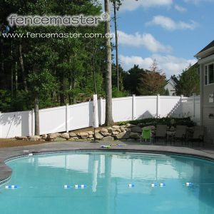 Vinyl Fence Florida North American pictures & photos