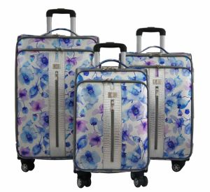 PU Bags and Cases Trolley Bags Luggage 1jb014 pictures & photos