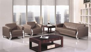 Rozel Leather Sofa in Malaysia Modern Sofa (FOH-1433) pictures & photos