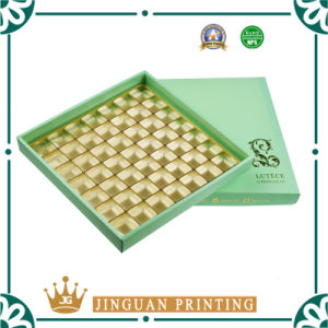 High Quality Food Grade Paper Gift Chocolate Packaging Box with Tray