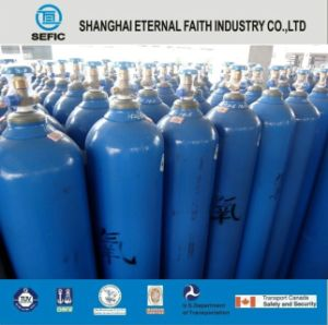 50kg Seamless Steel Cylinder Argon Gas Bottles pictures & photos