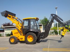 China Best Backhoe Loader with Ce Approved Xnwz74180 pictures & photos