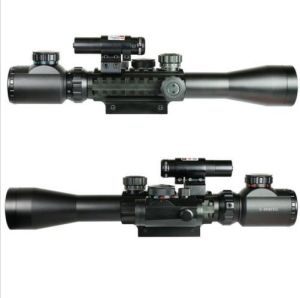 3-9X40 Illuminated Tactical Riflescope with Red Laser & Holographic DOT Sight pictures & photos