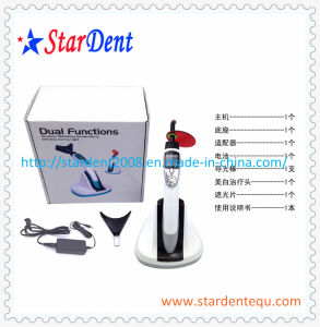Dental Functions Wireless LED Curing Light Whitening Accelerator of Lab Hosptial Medical Equipment pictures & photos