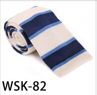 Men′s Fashionable 100% Polyester Knitted Necktie (WSK-82) pictures & photos