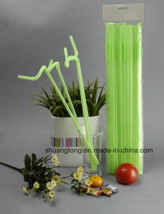 Long Plastic Artiistic Straws pictures & photos