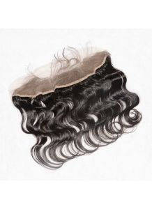Fast Shipping Brazilian Virgin Human Hair Nape Closure Back Lace Frontal Body Wave Nape Lace Closure pictures & photos