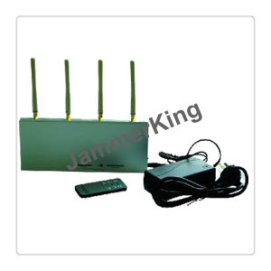 Hot Selling Cell Phone + GPS Signal Jammer Blocker with Remote Control pictures & photos