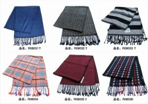 New Design Men′s Fasion Viscose Scarf (08031-08036) pictures & photos