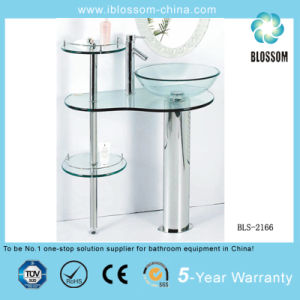 Tempered Glass Bedroom Vanity (BLS-2166) pictures & photos