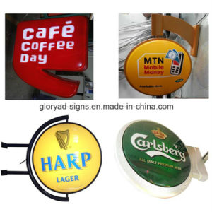Advertising Outdoor Round and Squre Vacuum Sucking LED Light Box pictures & photos
