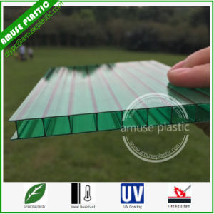 Good Price 10mm Lexan Green Polycarbonate Sheet Fire Proof Walkway pictures & photos