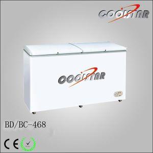 New 468L Single Temperature Refrigerator Freezer Supermarket Freezer for Ice Cream pictures & photos