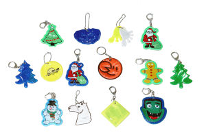 Customized Reflective Keyring for Safety pictures & photos
