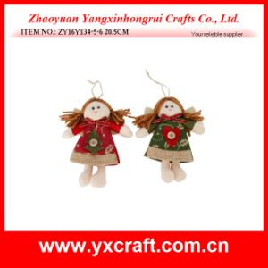 Christmas Decoration (ZY16Y134-5-6 20.5CM) Christmas Angel Tree Decoration pictures & photos