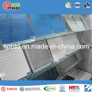 Stainless Steel No-Slip Checkered Stair Plate pictures & photos