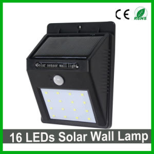 Good Quality 16LEDs LED Solar Wall Light for Outdoor/Garden pictures & photos