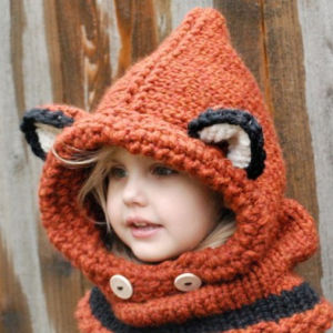 Warm Soft Cute Funny Fox Animal Party Hat pictures & photos
