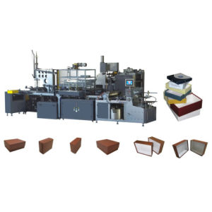 Full Automatic Rigid Paper Box Making Lines CE pictures & photos
