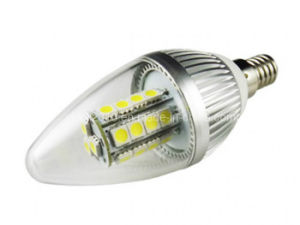High Power C37 E14 LED 27 5050 SMD Candle Bulb Light Lamp pictures & photos