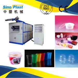 Automatic Cool Water Disposable Plastic Cup Thermoforming Machine