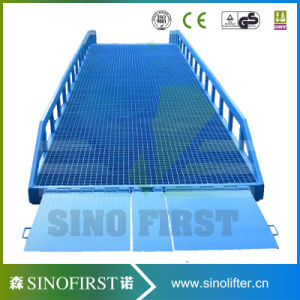 10ton 12ton Movable Container Load Dock Ramp Leveler pictures & photos