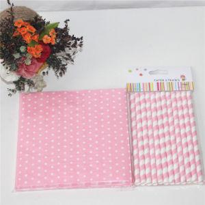 Pink Dots Design Paper Napkin Party Decoration pictures & photos