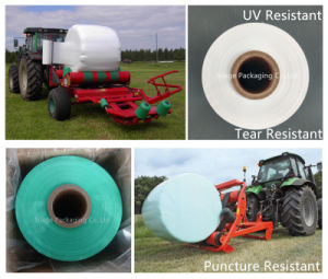 White 750mm Wide Silage Wrap Baling Film Silage Stretch Film pictures & photos