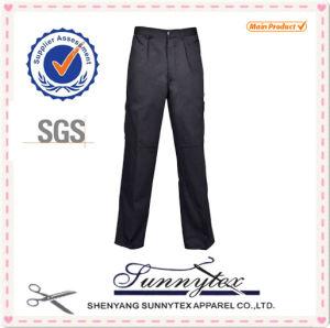 2016 OEM Pockets Basic European Standard Cotton Zipper Cargo Pants pictures & photos