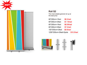 Aluminum Roll up Display pictures & photos