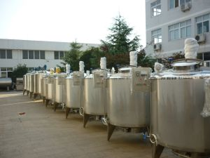 Food Sanitary 3000L Yoghurt Incubation Tanks pictures & photos