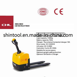 Electric Pallet Truck Cbd15-610 Mini Pallet Truck pictures & photos