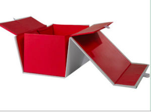 New Style Folding Paper Box with Added Flaps pictures & photos