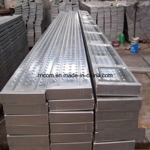 2m Galvanized Steel Planks for Ringlock/Cuplock/Kwikstage Scaffold pictures & photos