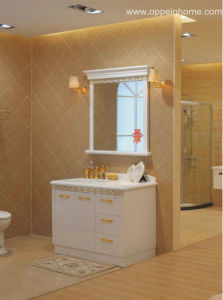 Lacquer White Bathroom Cabinet (OP11-007-115)